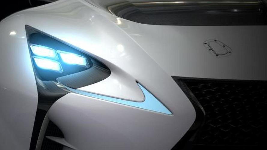 Lexus LF-LC GT Vision Gran Turismo teased