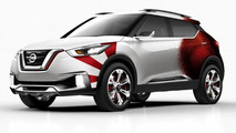 Nissan Kicks with new livery