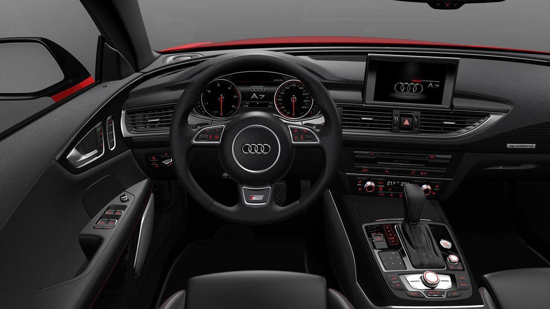 Фото салона Audi A7 Sportback 3.0 TDi competition