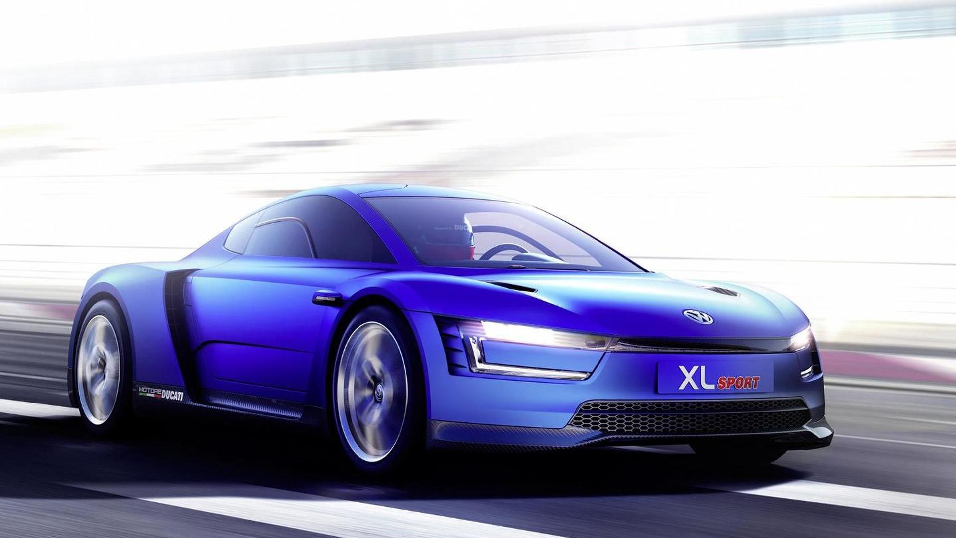 Volkswagen XL Sport. Прототип 2014 года