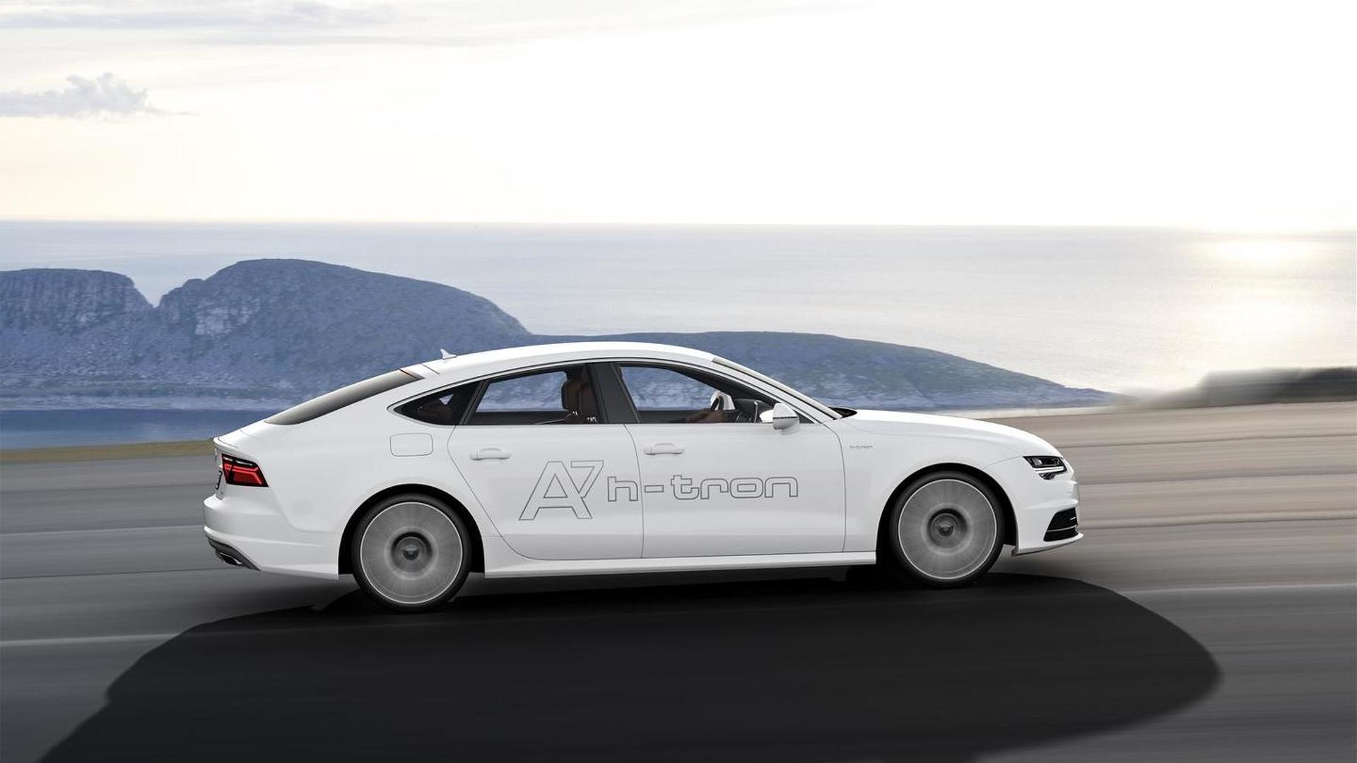 Водородный автомобиль Audi A7 Sportback h-tron quattro