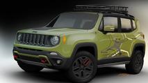 Mopar tricks out two Jeep Renegades for NAIAS