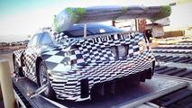 Cadillac ATS-V GT3 leaked photo