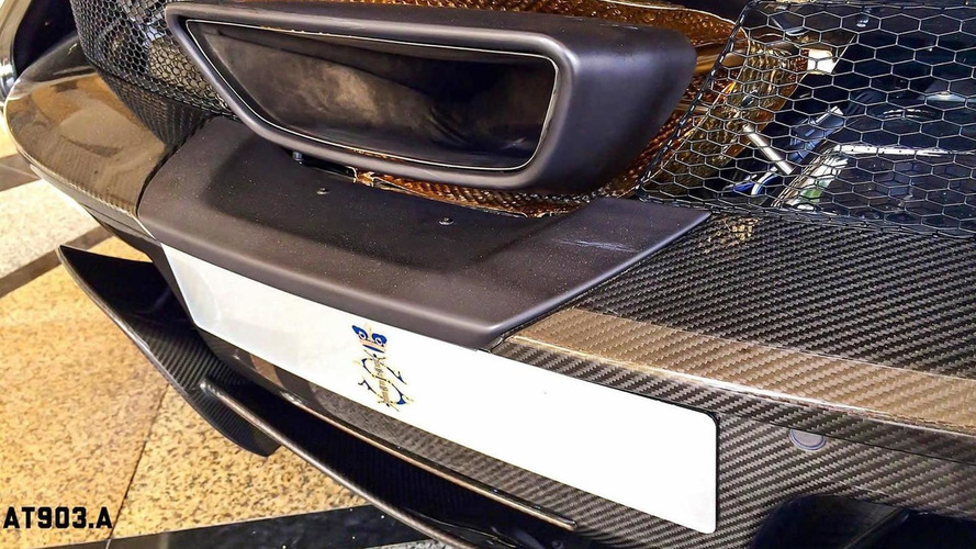 McLaren P1 by MSO spotted in Malaysia with gold engine cover and wheels [video]