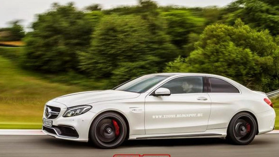 Mercedes-AMG C63 Coupe rendering has potential