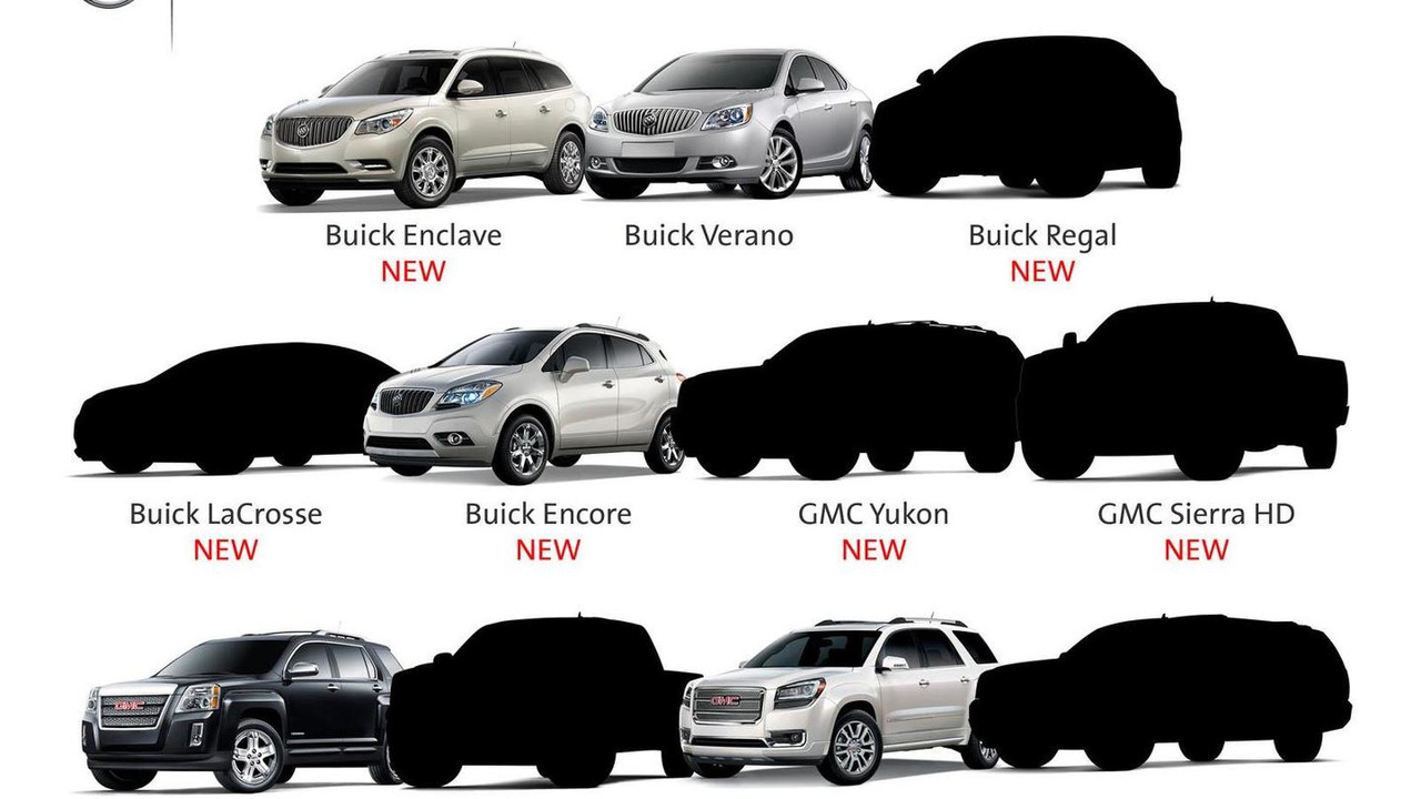 Buick and GMC teaser image 20.9.2012