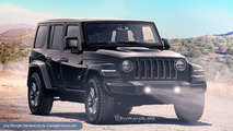 2018 Jeep Wrangler Unlimited rendering