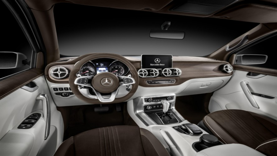 Mercedes-Benz Classe X: projeção prevê visual final da nova picape