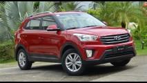 No Brasil este ano, Hyundai ix25 bate 100.000 pedidos na Índia