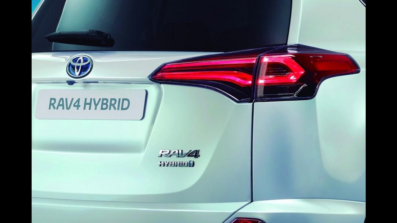 Toyota confirma RAV4 híbrido para o mês que vem e divulga teaser