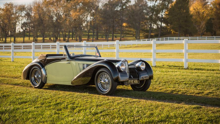 Bu güzel Bugatti Type 57S Cabriolet, açık arttırmada 8 milyon dolara gidebilir