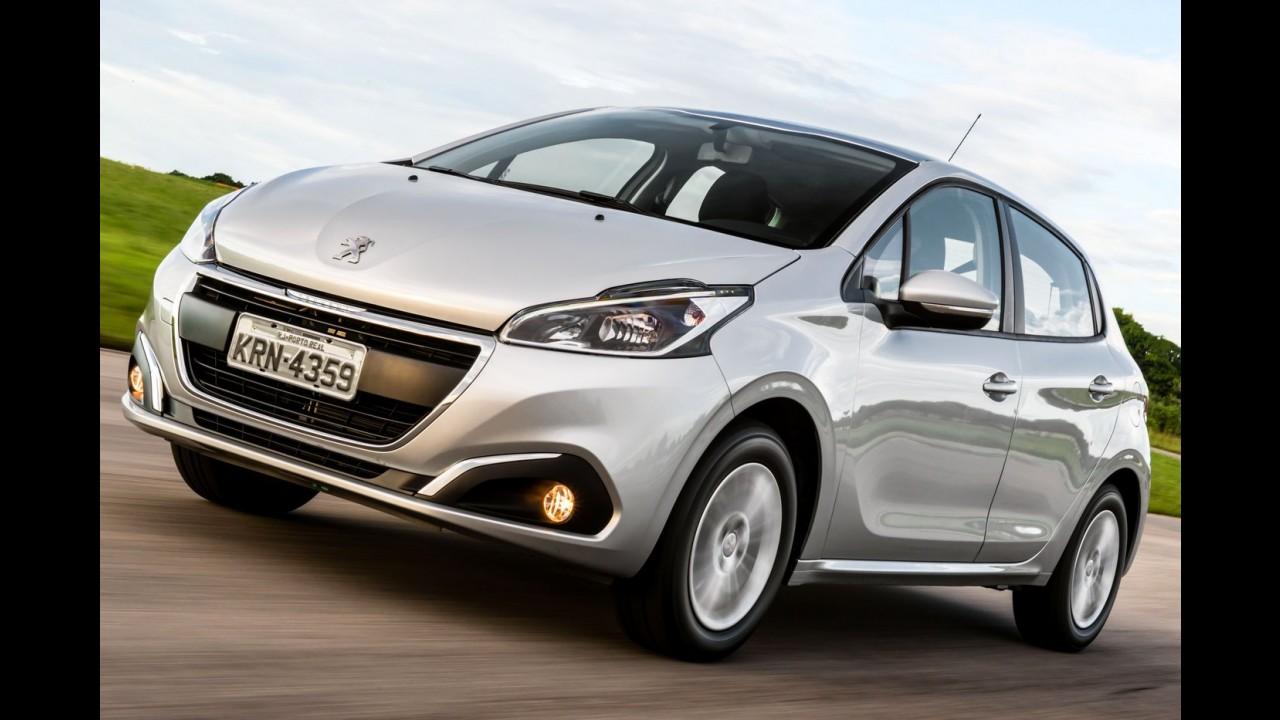 Peugeot oferece taxa zero para 2008 e bônus para o 208 com motor 1.6