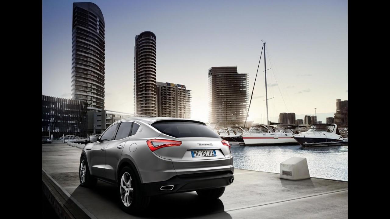 Inédito SUV Levante será garantia de lucros para Maserati, prevê Marchionne