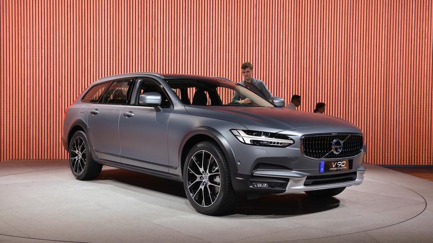 2017 Volvo V90 Cross Country: LA 2016