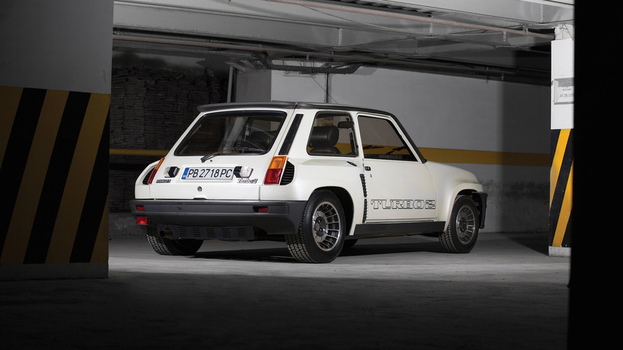 Auction-bound Renault 5 Turbo II is virtually brand new