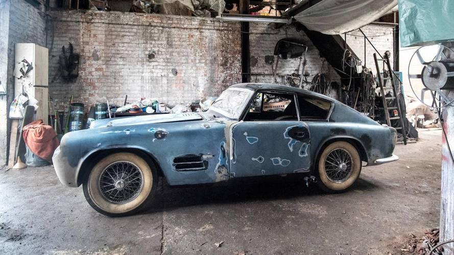 Un Jaguar XK140, carrozado por Michelotti, vuelve a la vida