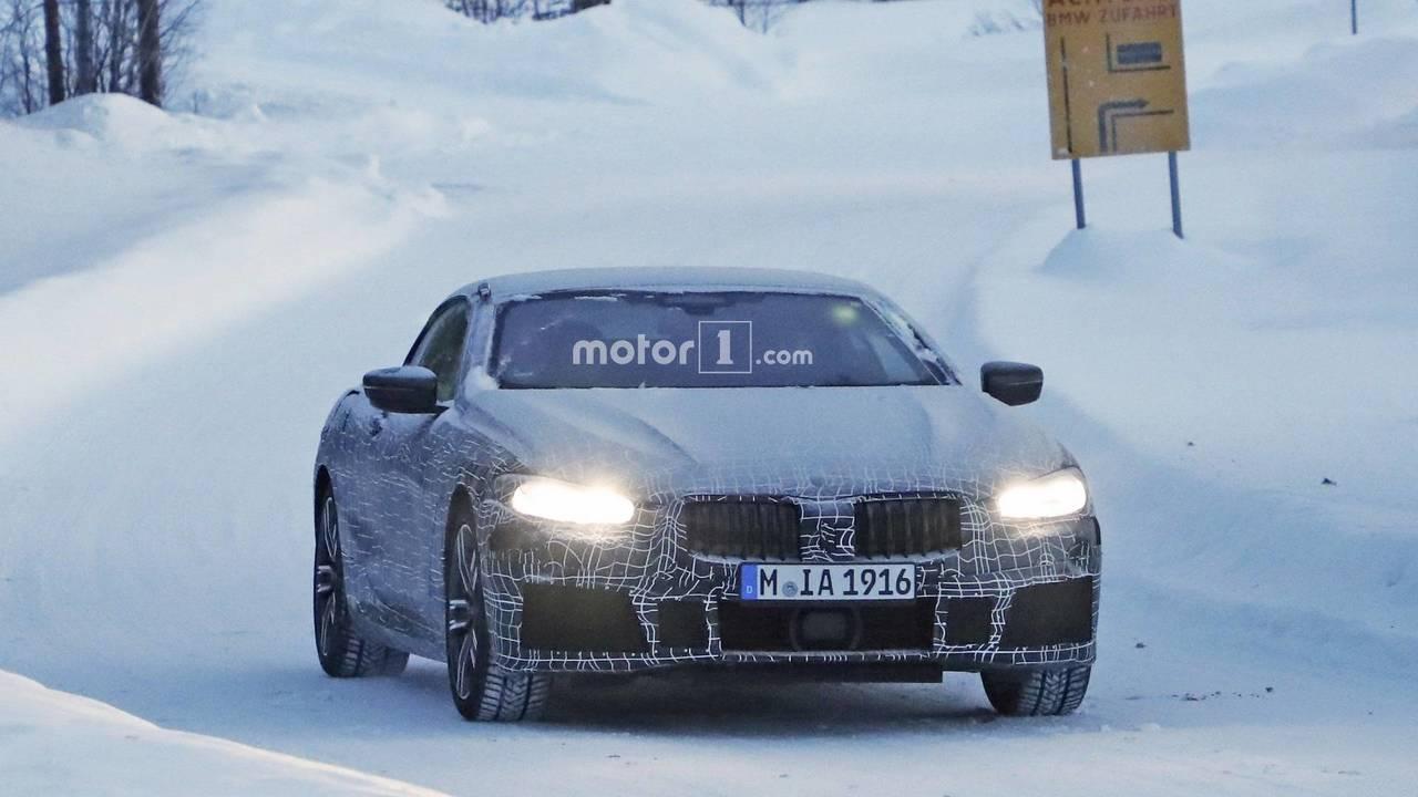 BMW 8 Series Convertible spy photo