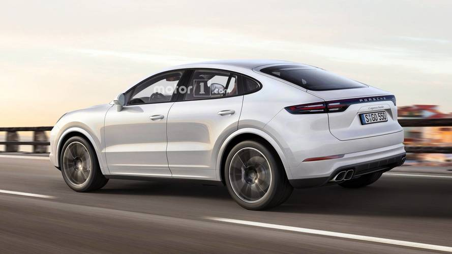 What If Porsche Made A Cayenne Coupe?