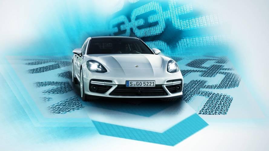 Porsche studia la blockchain per le auto