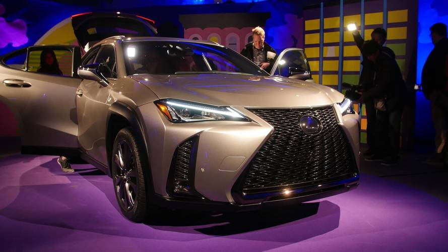 Lexus UX at the 2018 Geneva and New York auto shows