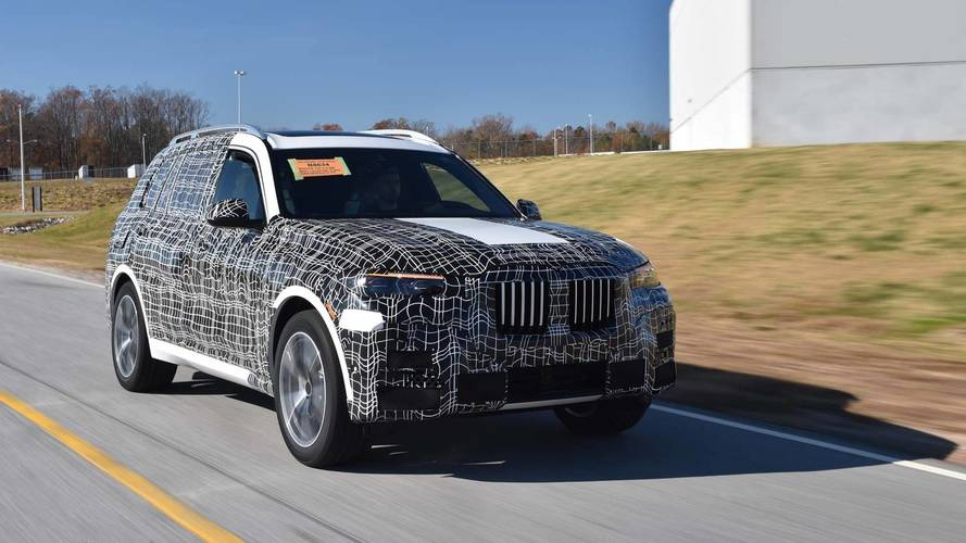 BMW X7 Pre-Production Kicks Off In South Carolina
