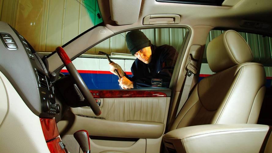 Vehicle vandalism up 10 percent in past three years