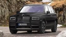 Rolls-Royce Cullinan render