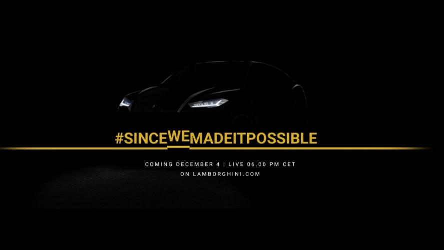 Lamborghini Urus, la presentazione si segue in streaming
