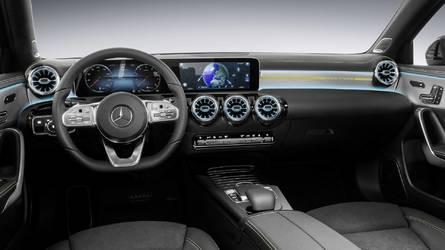 Mercedes Clase A 2018: primeras imágenes del interior