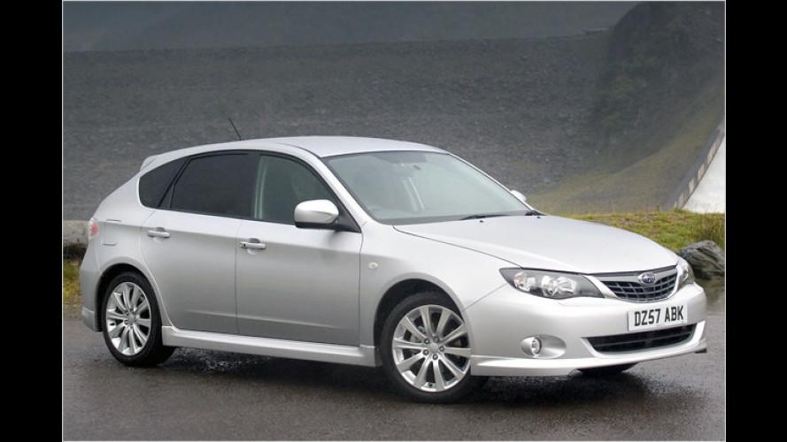 Subaru gibt Preise für neuen Impreza und Justy bekannt