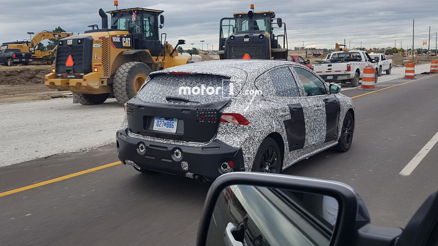 Ford Focus 5-Door Spotted By Motor1 Reader