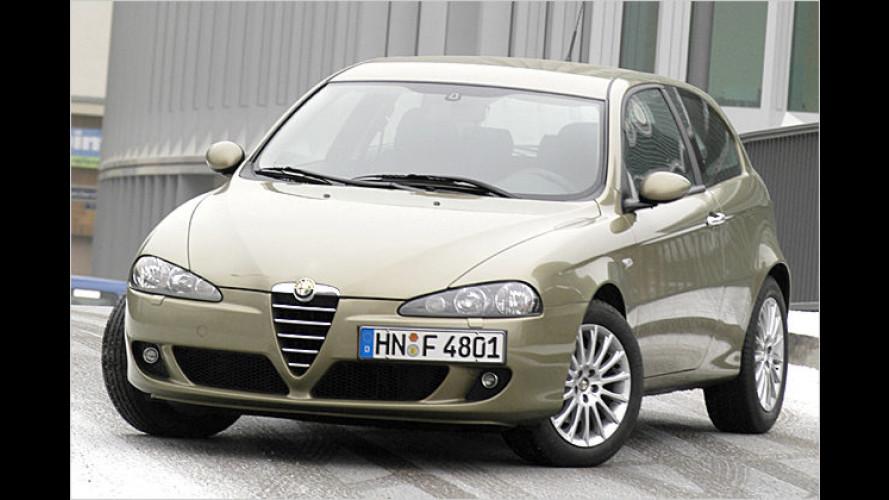 Alfa Romeo 147 mit Vorderachs-Sperrdifferenzial Q2