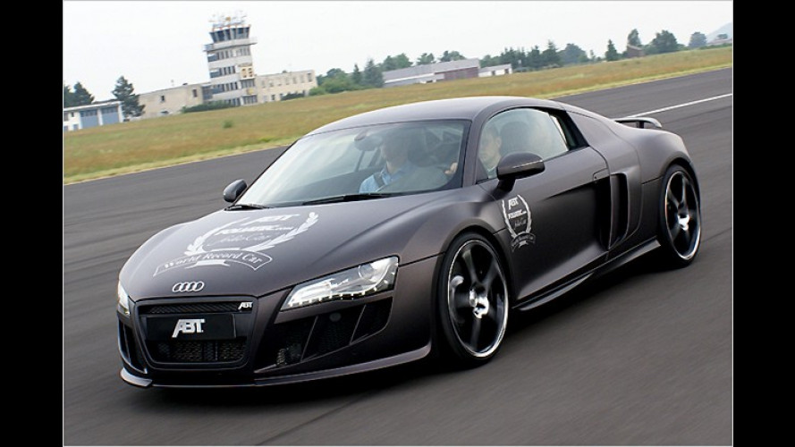 Rekordbeklebung: In Bestzeit zum Audi R8 in Karbonoptik