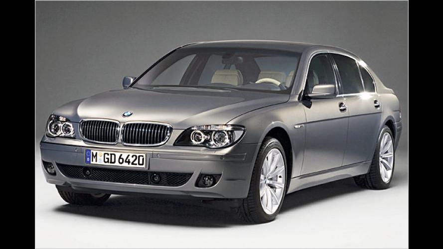 Edel ab Herbst 2006: BMW-Flaggschiff in Editionsausstattung