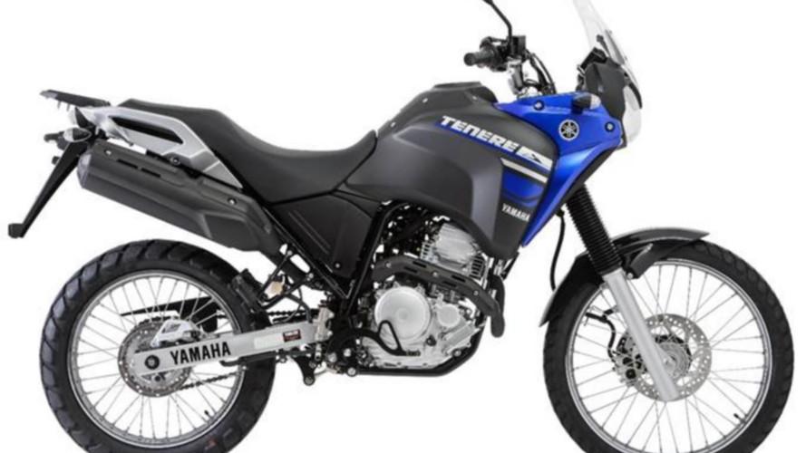 Yamaha Ténéré 250 2018 recebe novas opções de cores