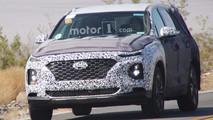 Photos espion Hyundai Santa Fe 2018