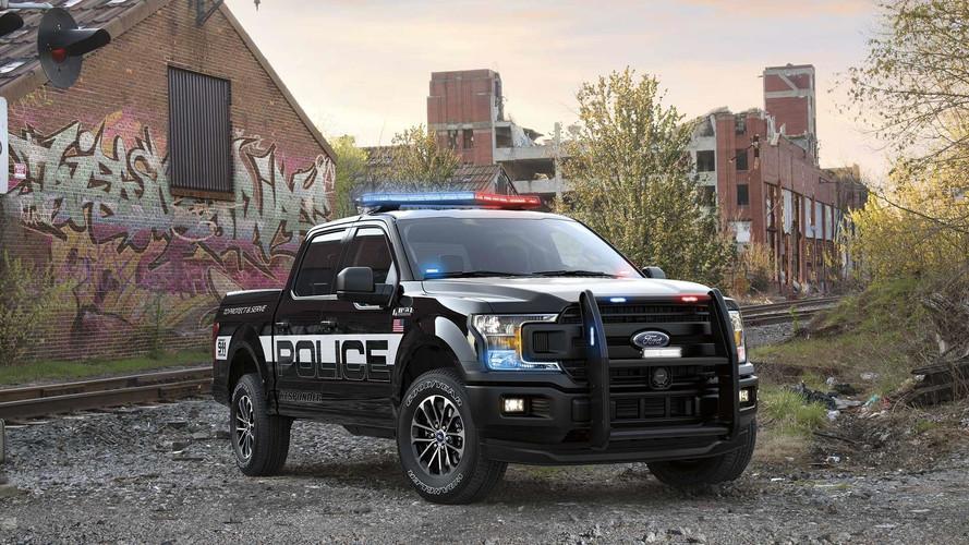 Ford F-150 Responder é a mais nova combatente do crime nos EUA