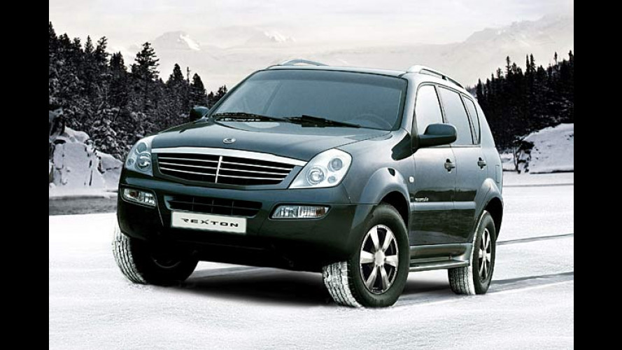 Daddy Cool: SsangYong Rexton in neuer Winter-Edition