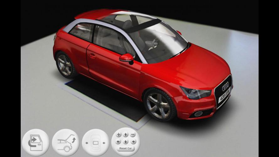 Audi A1 in 3D interattivo