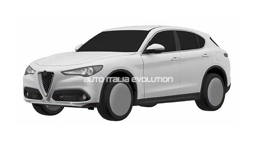 Alfa Romeo Stelvio - De nouvelles images de la version classique ont fuité
