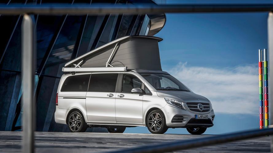 Posh Mercedes Marco Polo camper has 'yacht wood' floors