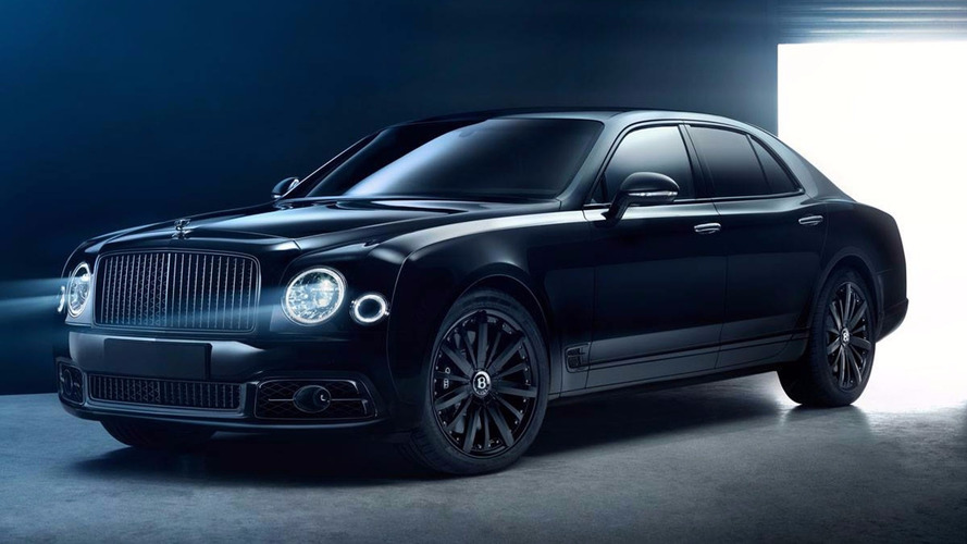 Murdered-out Bentley Mulsanne Bamford X is deeply menacing