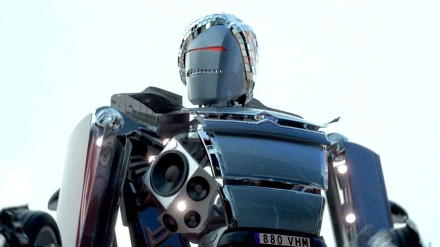 Citroen C4 is a Staying Alive Dancing Robot