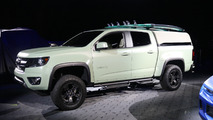 Chevy Colorado Z71 Hurley concept Live Photos
