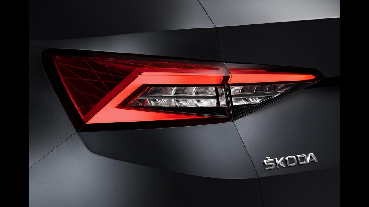 Primo do Volkswagen Tiguan, inédito Skoda Kodiaq começa a aparecer