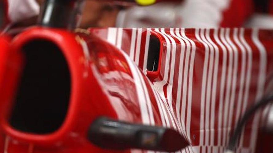 Fisichella tests Ferrari F-duct at Vairano