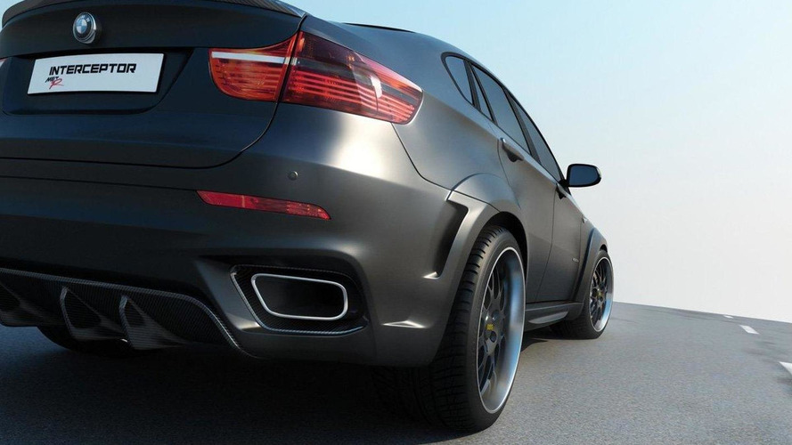BMW X6 Interceptor by Moscow tuner Met-R [Video]