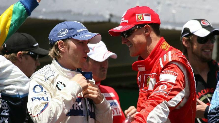 Schumacher apologised to Heidfeld after Merc seat clash