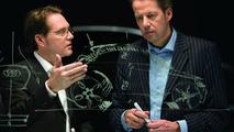 Stefan Sielaff, Head of Design at AUDI AG, and Danny Garand, Audi desginer, talk about the new Audi A1