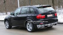 BMW X5 M spy photos in Munich